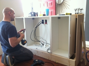 ikea boxes and wiring